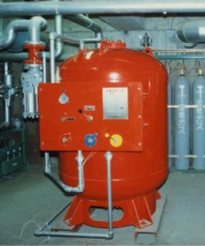 سیستم آتش نشانی فوم و پودر خشک