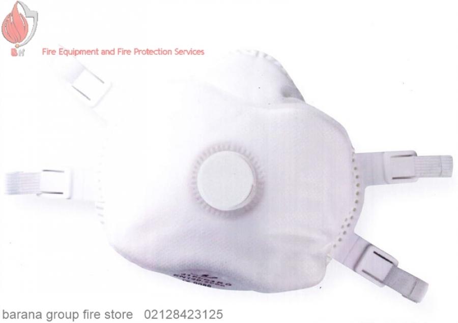 ماسک سوپاپ دار سفید مدل JFY-12231