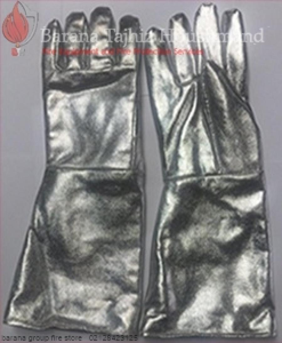 دستکش نسوز با روکش آلومينيومي JLP0501