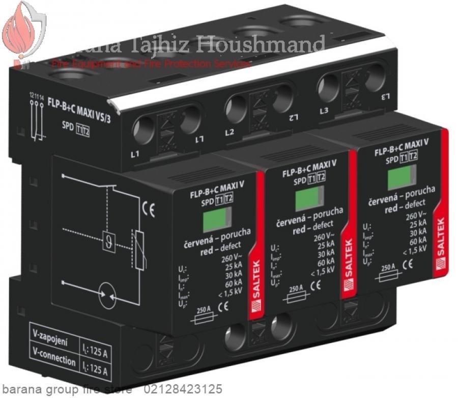 برقگیر FLP-B+C MAXI VS/3