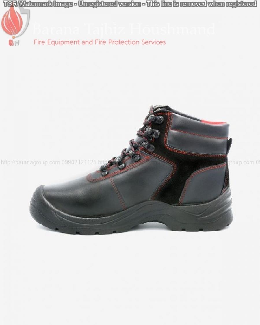 کفش ایمنی ساتر مدل چیتا قرمز