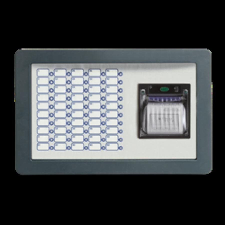 ماژول اعلام حریق با چراغ سه رنگ به همراه پرینتر previdia max