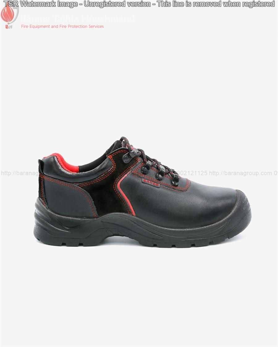 کفش ایمنی ساتر مدل یوز قرمز با زیره رابر