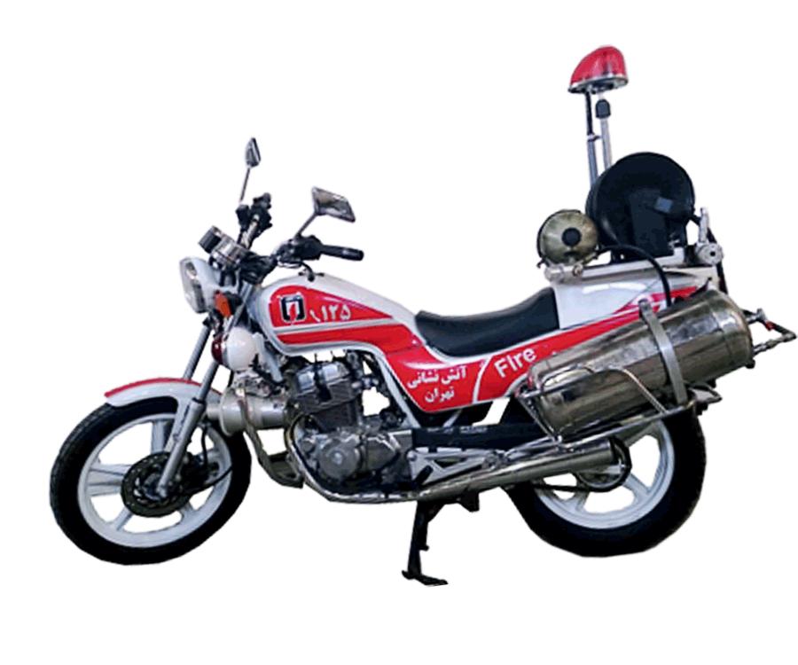 موتور سیکلت آتش نشانی  هوندا 250