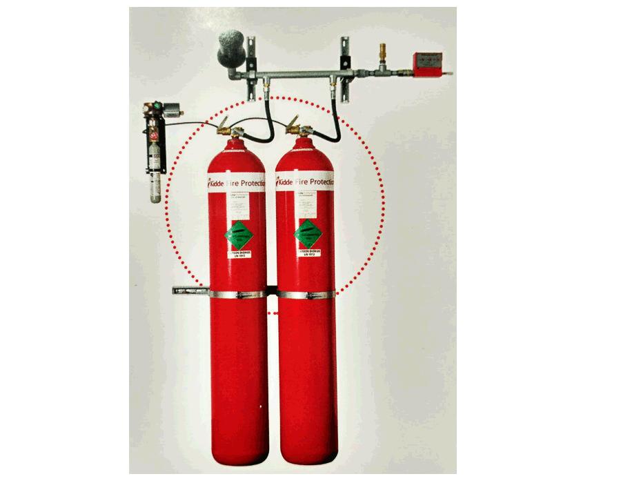 سیستم اطفا حریق اتوماتیک گاز co2