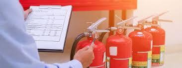 کارگاه شارژ کپسولهای اطفاء حریق در پایگاه ویژه ملت